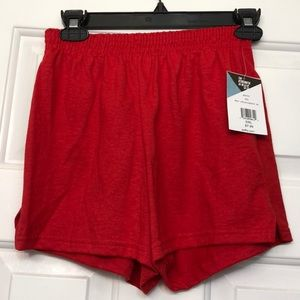 NWT Red Soffe Shorts